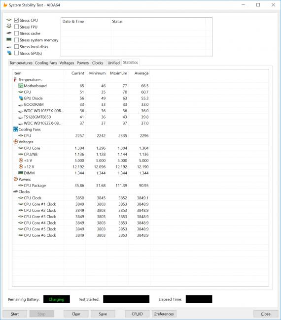 Baroncase 1600X OC 3850 Premiere Pro