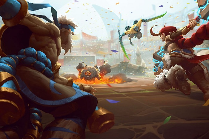 Battle Royale in Battlerite
