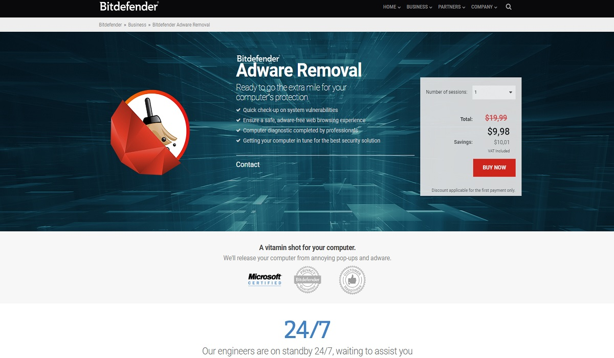 Bitdefender Adware Removal Tool