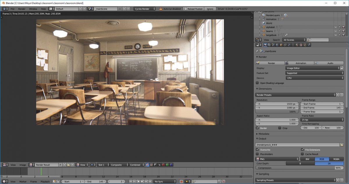 Classroom Stock A2118