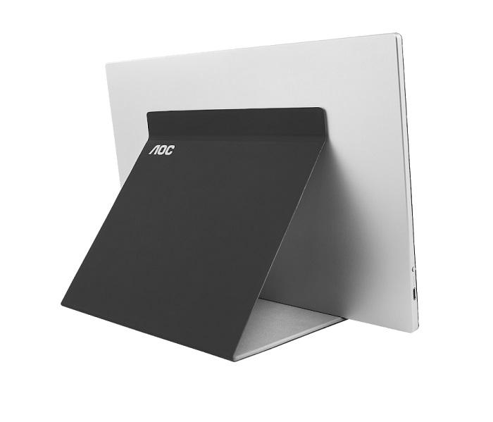 AOC представила новый портативный USB-C монитор I1601FWUX