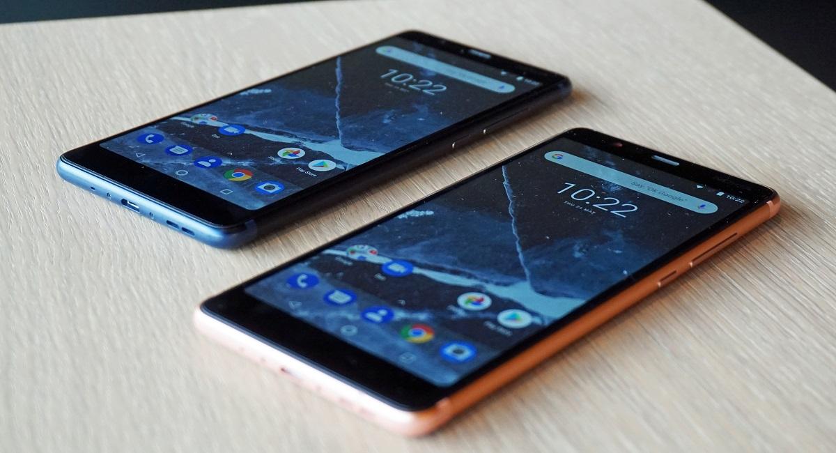 Nokia 5.1, 3.1, 2.1