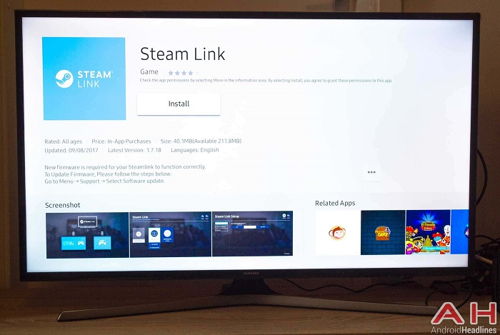 Steam Link and Steam Video