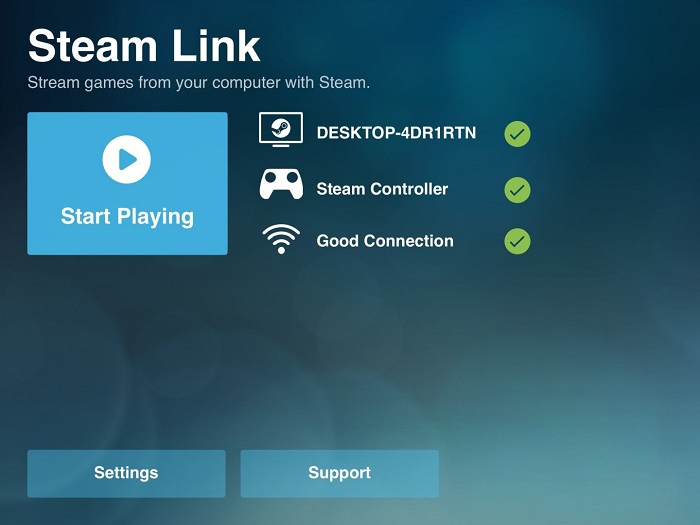 Steam link to iOS