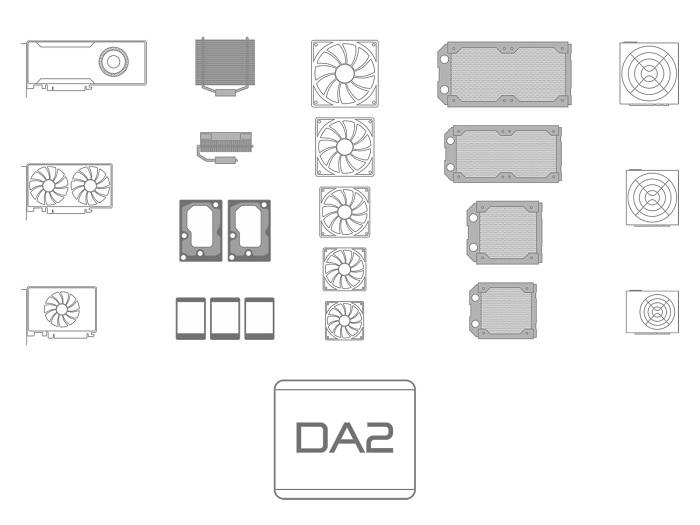HTPC-корпус Streacom DA2 – компактный снаружи, вместительный внутри