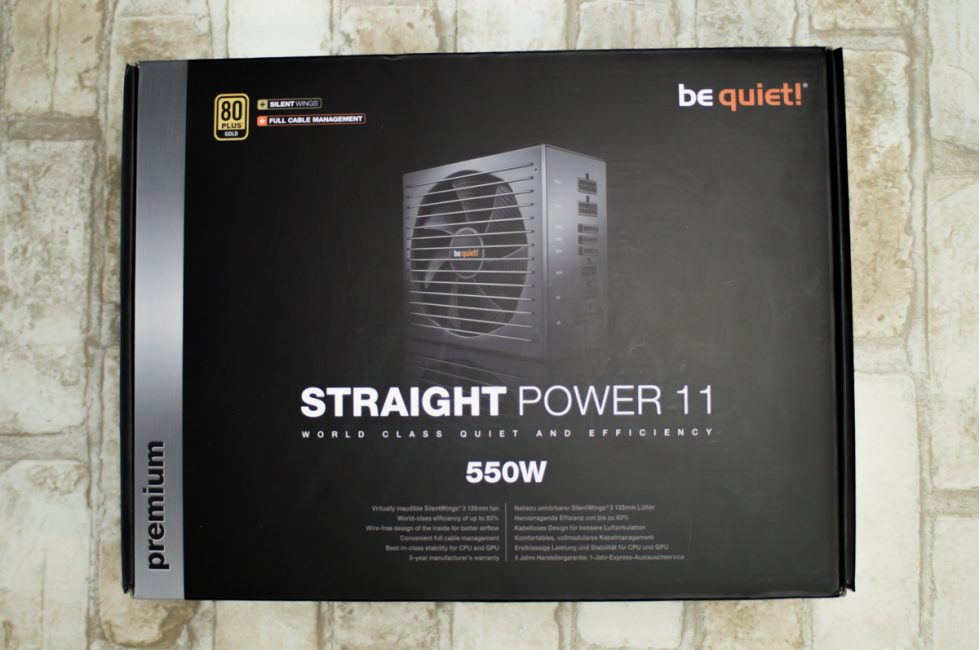 be quiet! Straight Power 11 68