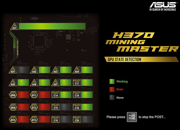 h370 mining maste