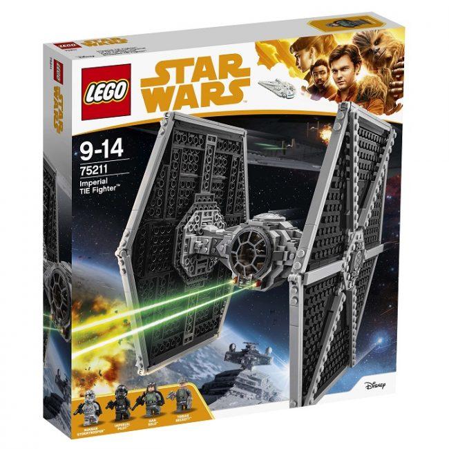 LEGO представила новые наборы Star Wars, посвящённые фильму «Соло»