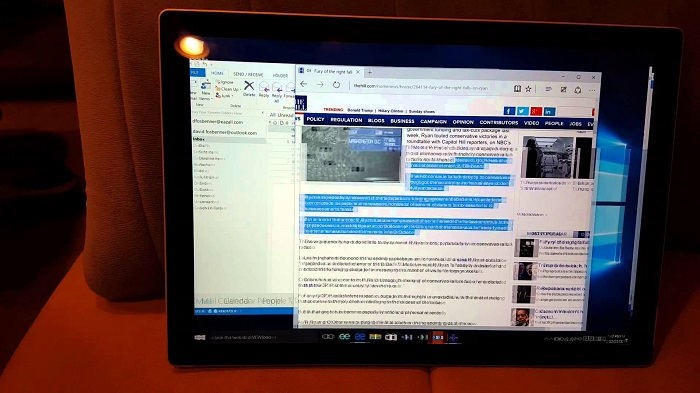 surface pro 4 flickering