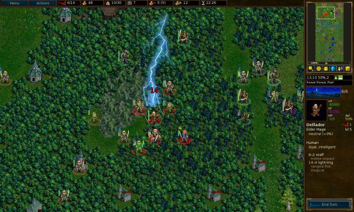 Battle For Wesnoth выходит в Steam с новым обновлением