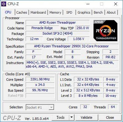 Ryzen Threadripper 2990X