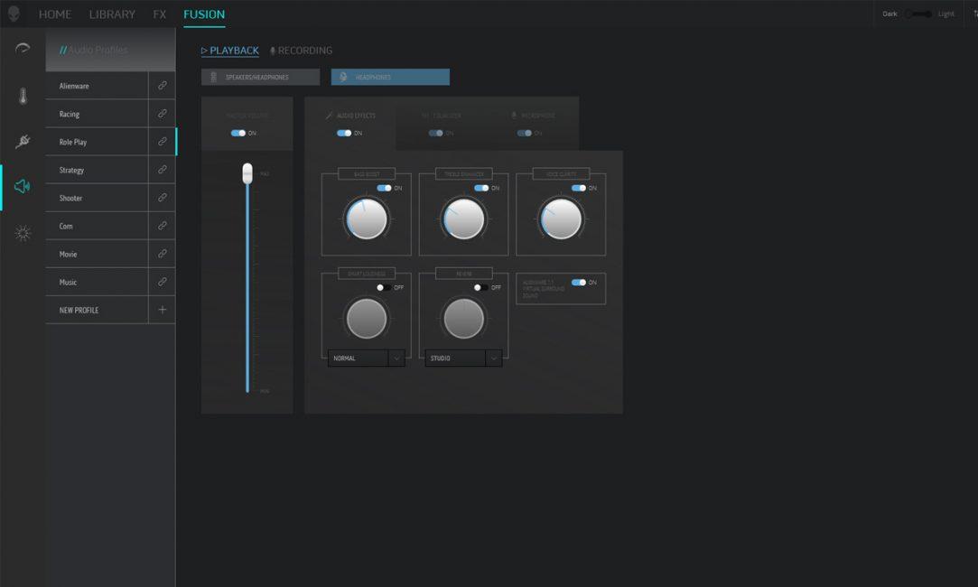 Alienware Command Sound Center