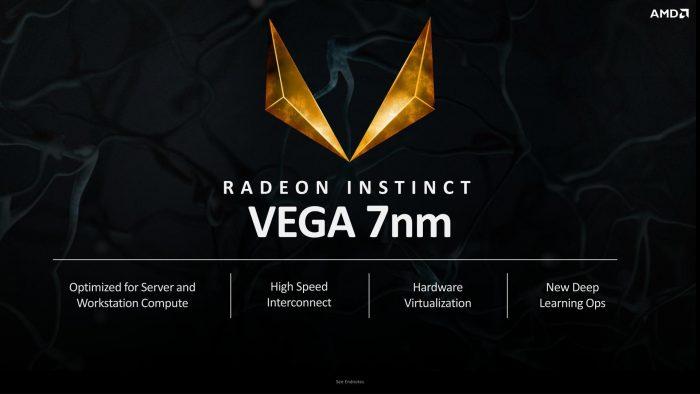 AMD показала 7-нм архитектуру Radeon Vega