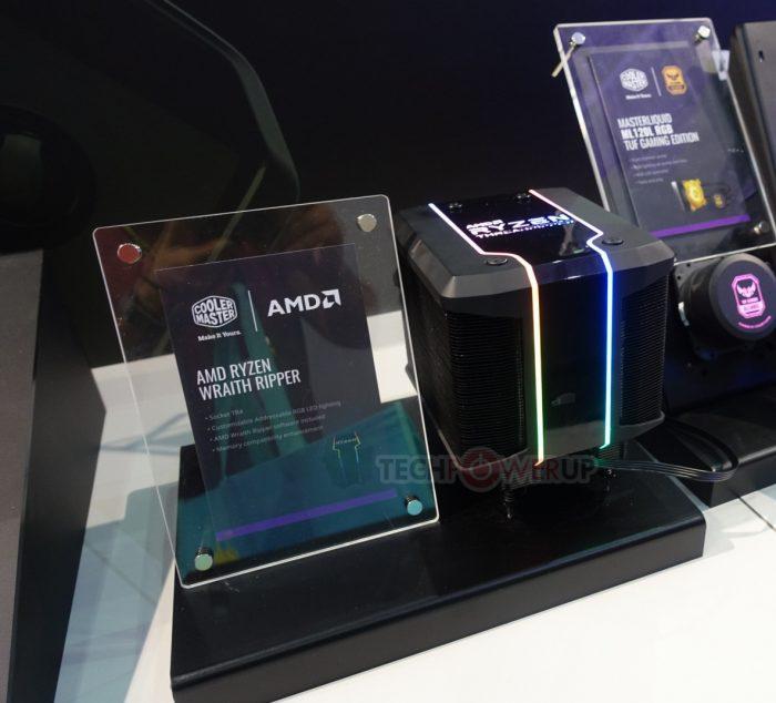 AMD и Cooler Master создали кулер-гигант для нового процессора