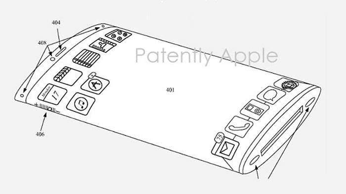 Apple разрабатывает новый «обволакивающий» дисплей для iPhone