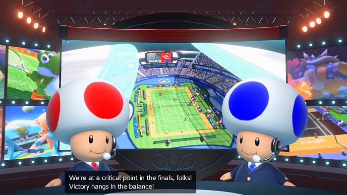 Обзор Mario Tennis Aces – Усатый мастер тенниса снова в деле