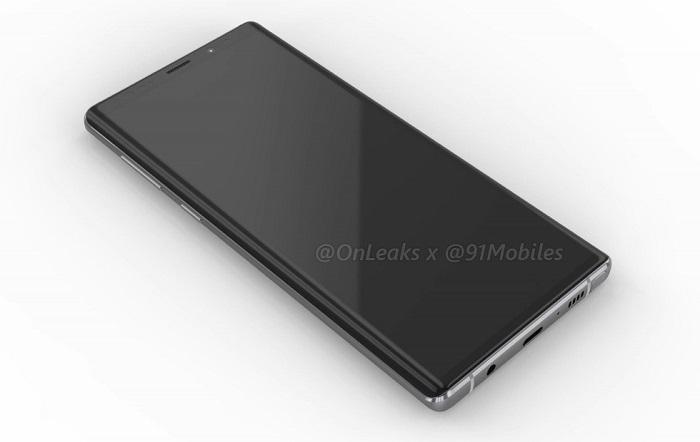 В Сети появились рендеры Galaxy Note 9