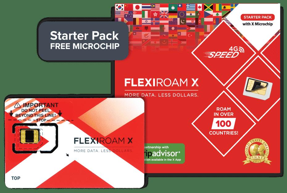 Flexiroam X
