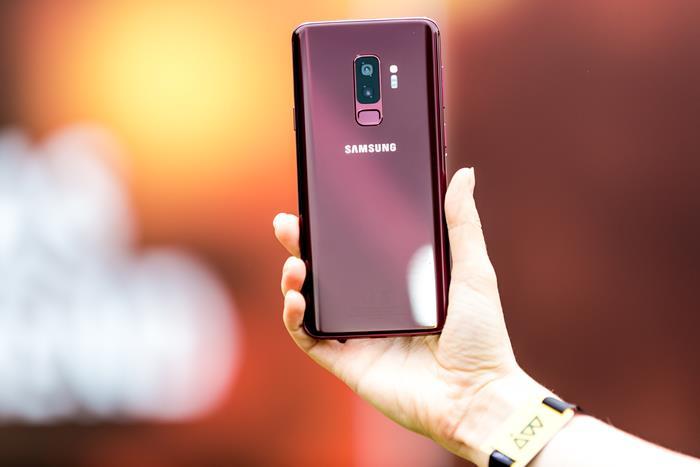 Galaxy S9 Burgundy Red