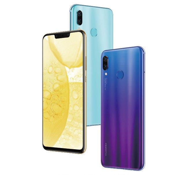 Смартфон Huawei Nova 3 рассекретили до премьеры
