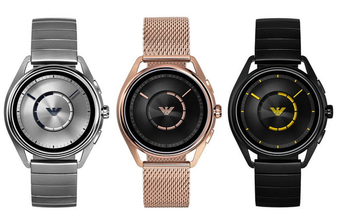 Новые умные часы от Emporio Armani на Wear OS обзаведутся GPS и NFC