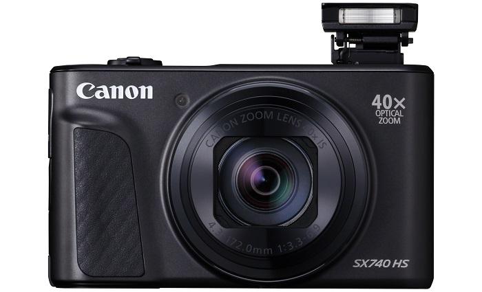 Canon представила камеру PowerShot SX740 HS с 40 кратным зумом