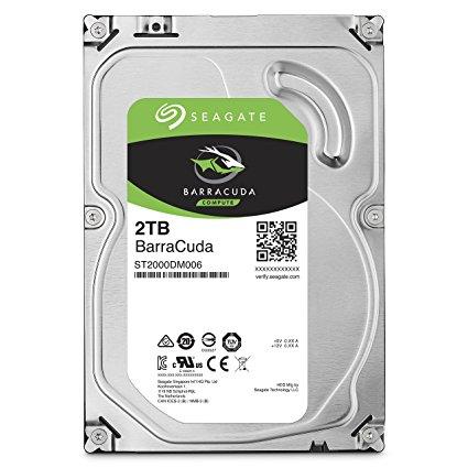 Seagate BarraCuda HDD 2TB 7200