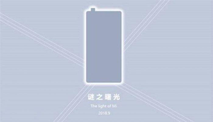 Названа дата анонса Xiaomi Mi Mix 3 с выдвижной камерой