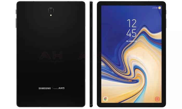 В Сети появилось первое изображение нового Samsung Galaxy Tab S4