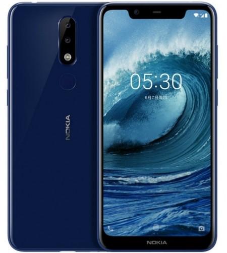Так мы и знали: Nokia X5 обзаведётся вырезом на экране и двойной камерой