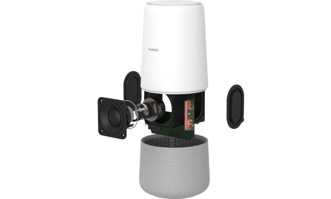 Huawei представила умное устройство AI Cube с голосовом помощником Alexa