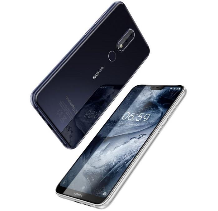 Компания HMD анонсировала безрамочные смартфоны Nokia 6.1 Plus и 5.1 Plus