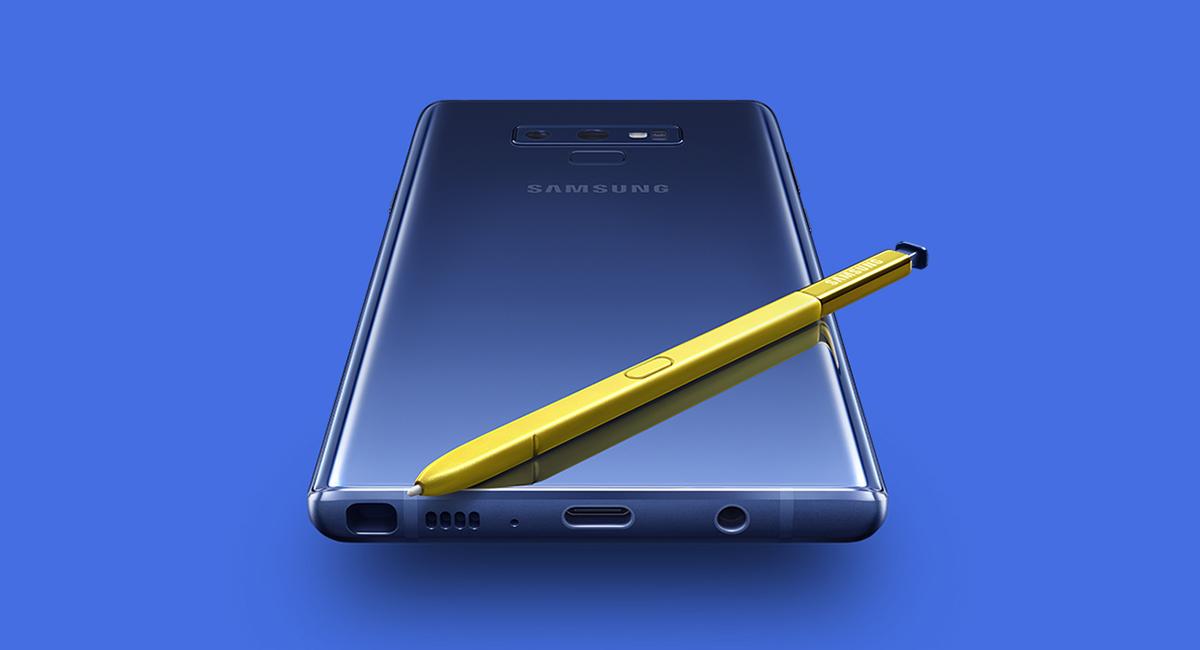 Samsung Galaxy Note9 presentation title