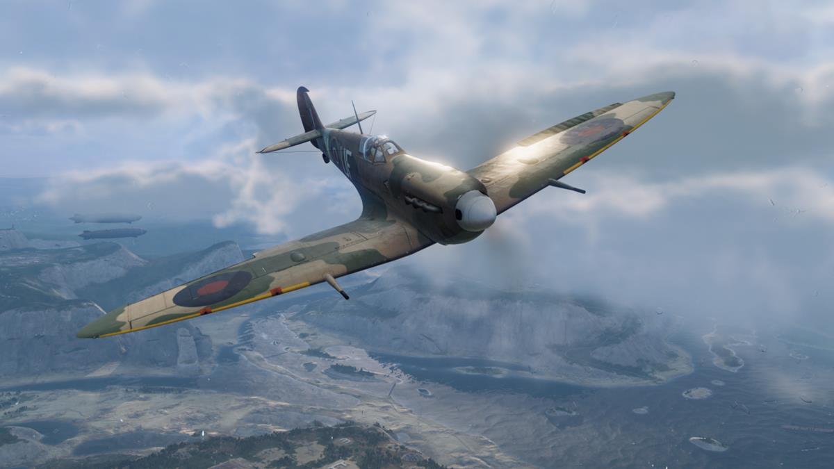Spitfire in Warplanes