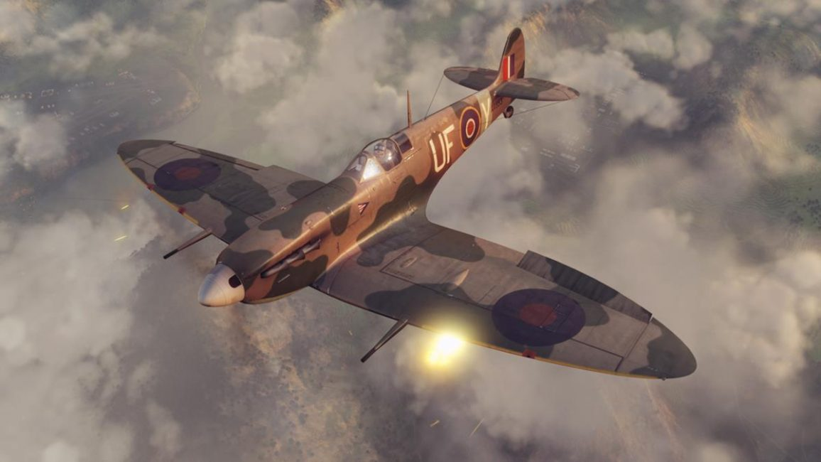 Spitfire in Warplanes