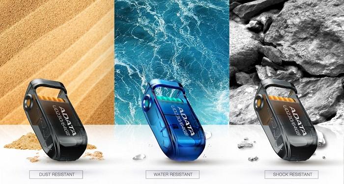ADATA представила емкие защищенные USB-накопители UD230 и UD330