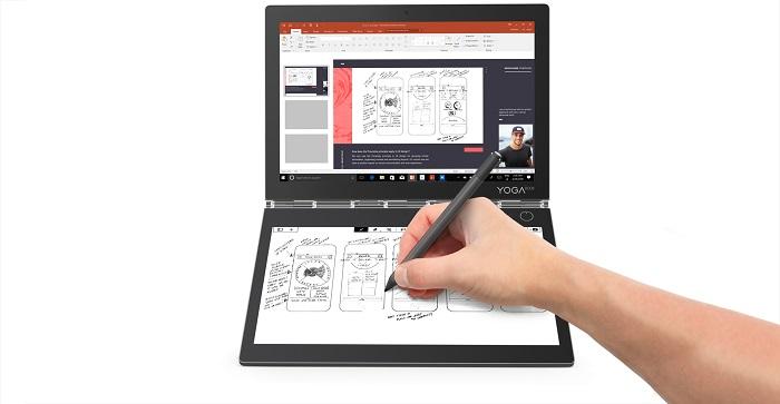 Lenovo YOGA Book C930 – ноутбук 2-в-1 с дополнительным E-Ink дисплеем