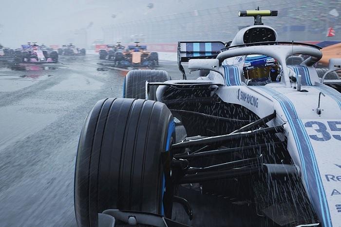 Codemasters показала игровой трейлер F1 2018
