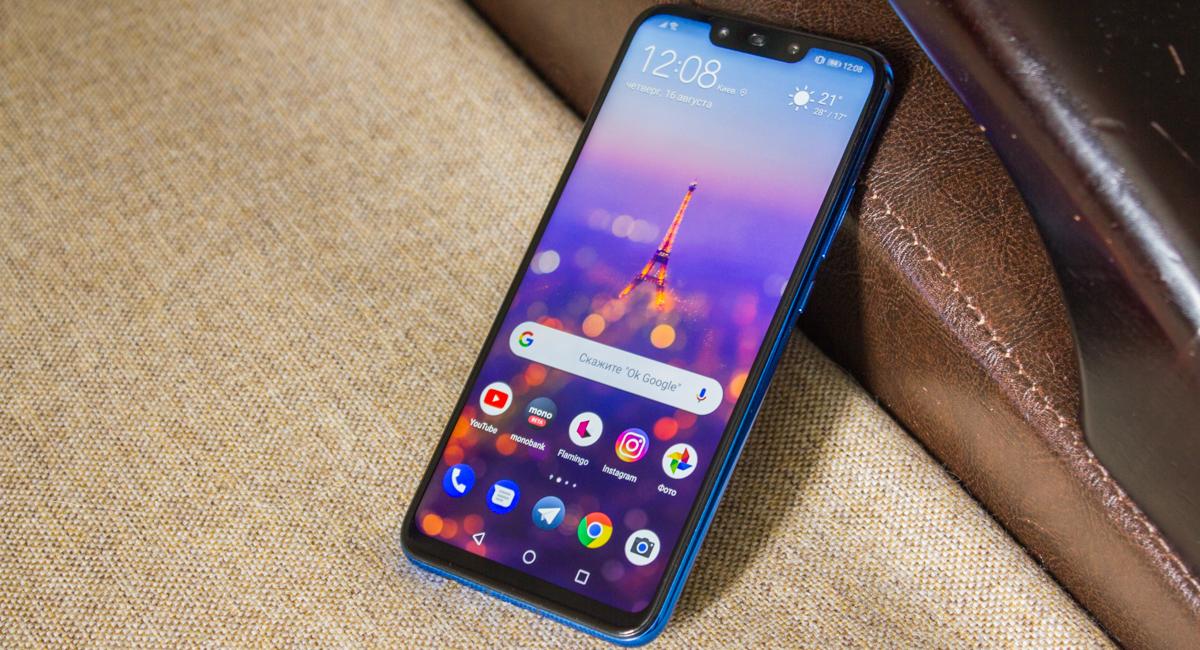 Обзор Huawei P smart+ (Nova 3i) — стильный середнячок, похожий на флагман