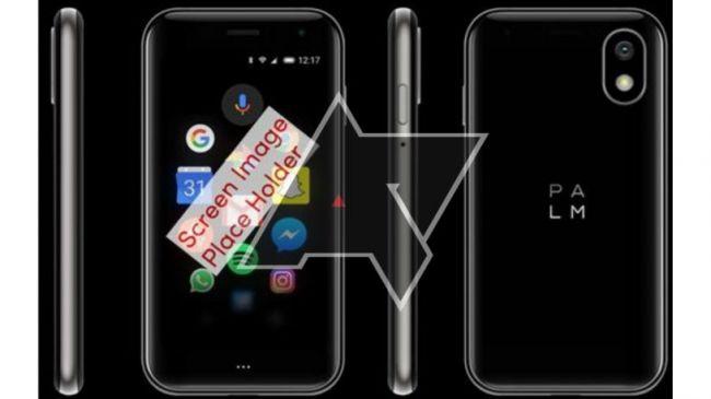 Palm готовится вернуться на рынок смартфонов с новым миниатюрным Pepito