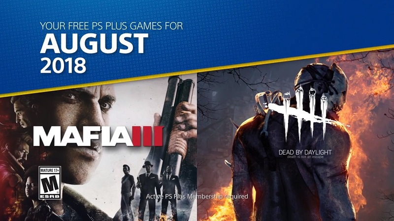 Подборка игр по подписке PlayStation Plus на август 2018