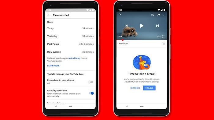 YouTube тепер покаже, скільки часу ви витратили на відео