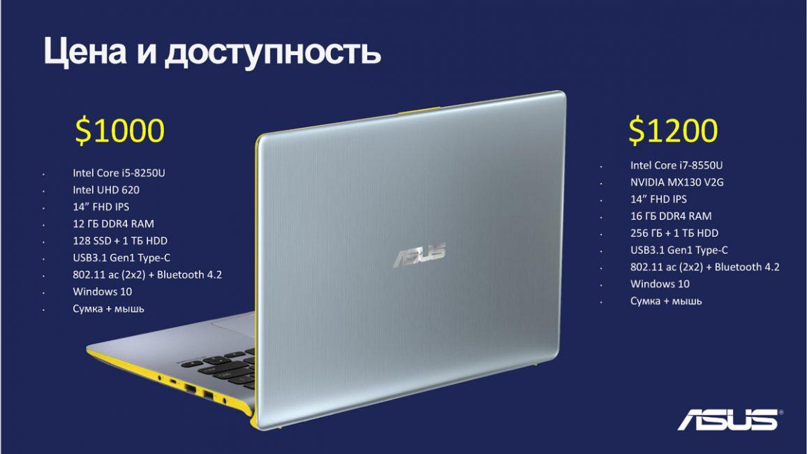 ASUS VivoBook S14 (S430U)