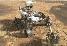 NASA Rover Curiosity Mars rocks