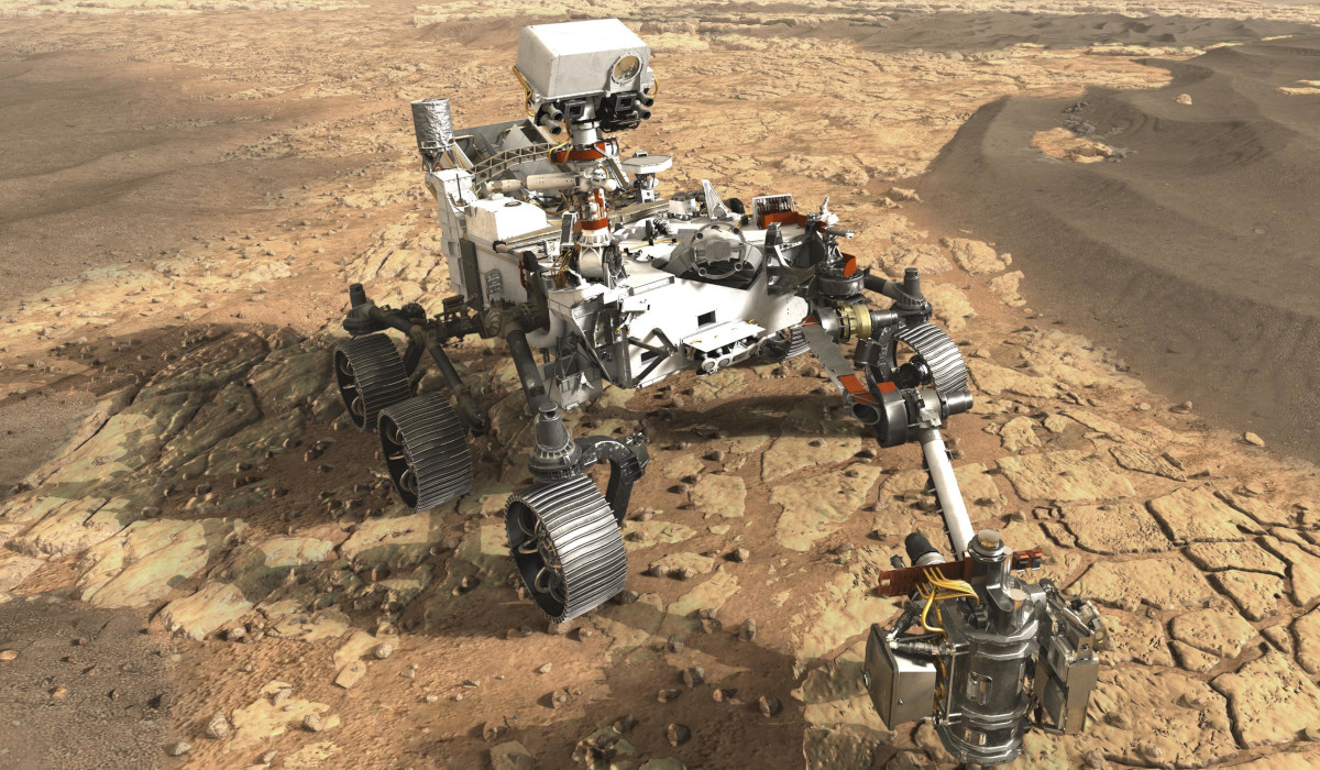 NASA Rover Curiosity Mars rocks