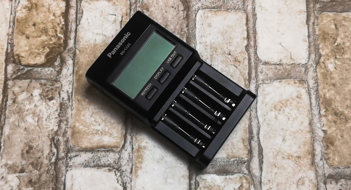 Panasonic Eneloop BQ-CC65