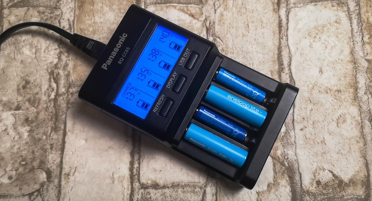Panasonic Eneloop BQ-CC65 80