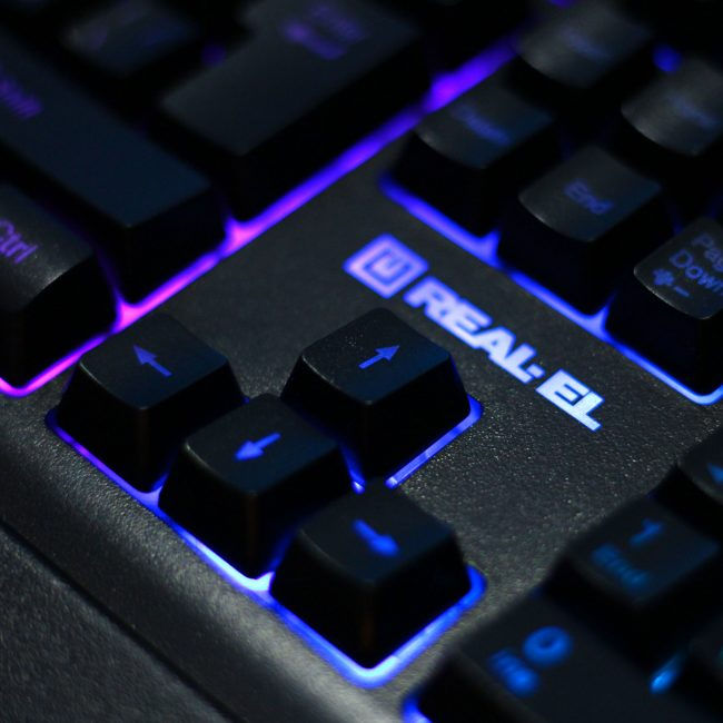 Real-EL Gaming 8900 RGB Macro
