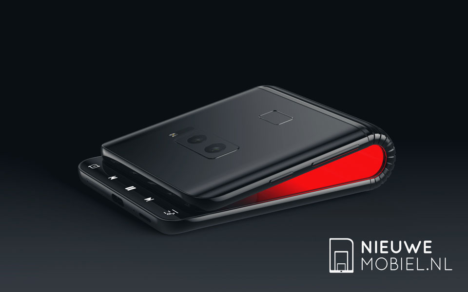 Samsung Foldable Phone, гнучкий смартфон