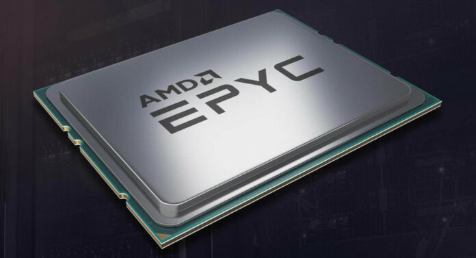 AMD Epyc Rome Cinebench